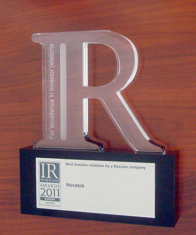 IR Magazine Awards 2011